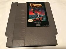 Nintendo system nes game Ultima quest of the avatar fci 1985