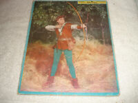 Vintage 1950s Robin Hood sta-n-place jigsaw Puzzle 13 1/2'' x 11''