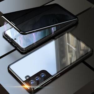 Hülle Samsung Galaxy S21 S21+ Ultra 360° Magnet Case Handy Tasche Schutzhülle
