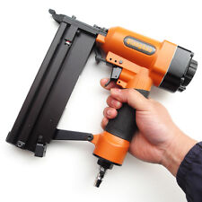 2 in 1 Quality Air Nail Gun Combo Brad+Staple Finishing Nailer, Safety Trigger