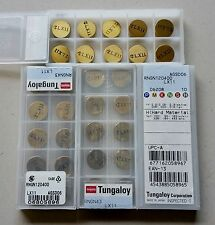 "10 Tungaloy 1/2"" RNGN 43 120400 fits RNG/RNMN/RNM Hard-turn LX11 CBN Alternative"
