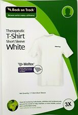 Back on Track Adult 3Xl Therapeutic Tshirt Short Sleeve White Weltex Fabric