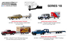 PREORDER Greenlight Hitch & Tow Series 18 Lot of 4 W/ Indian Motorcycle Trailer