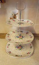 Midwinter - Stylecraft - Fashion Shape - 3 Tier Cake Stand - Floral Pattern