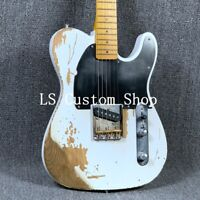Top Quality Handmade Heavy Relic TL Electric Guitar Good Job Aged Hardware