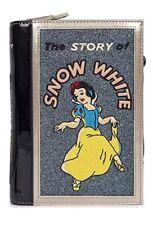 "NEW DANIELLE NICOLE X DISNEY ""SNOW WHITE"" Book Clutch Bag"
