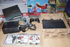 Lot CONSOLE PS3 complet en boîte Playstation 3 Move 320 Go + 3 jeux