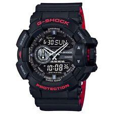 BRAND NEW CASIO G-SHOCK GA400HR-1A ROTARY BLACK/RED ANA-DIGI MEN'S WATCH NWT!!!!