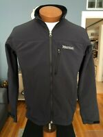 Marmot Black Lightweight Jacket Size Slim Small Soft Shell Polyester