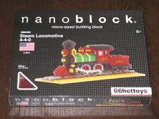 Nanoblock NBA-007 Steam Locomotive 4-4-0 NEW