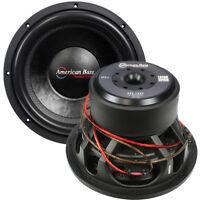 "NEW American Bass 12"" Woofer 2000W Max 2 Ohm DVC XFL1222"