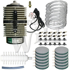 ACO300A HAILEA AIR PUMP 12x AIRSTONE KIT ACCESSORIES hydroponic pond aeration