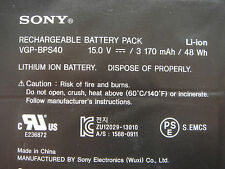 Batterie D'ORIGINE SONY VAIO VGP-BPS40 VGPBPS40 BPS40 Flip SVF 15A SVF15N17CXB