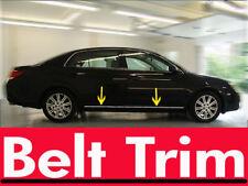 Toyota AVALON CHROME SIDE BELT TRIM DOOR MOLDING 2005 2006 2007 2008 2009-2012