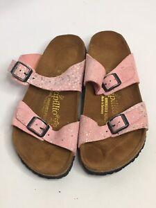 Papillio Birkenstock Women EUR 35  US 7-7.5Arizona Slip On Comfort Sandals Pink