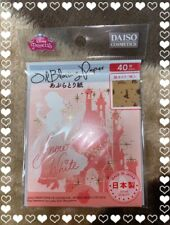 New! Daiso × Disney Snow White Kawaii Oil Blotting Paper 40 Sheets Made in Japan