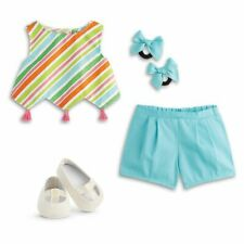 American Girl Doll Melody's Top Short Shoes Play outfit Joss Kit Nicki