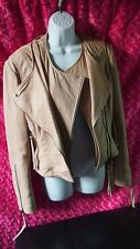 Twenty8Twelve Leather Jacket Size 10 Womens By S. Miller Henderson Lamb Moto