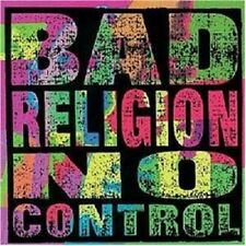BAD RELIGION 'NO CONTROL/REISSUE' CD NEW! PUNK!!