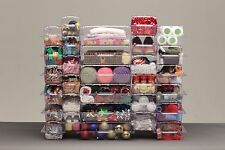 Store More 30pc Honeycomb Storage System with rails NEW