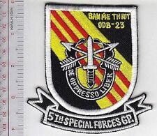 Green Beret US Army Vietnam 5th Special Forces Group Camp Ban Me Thuot ODB-23
