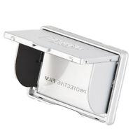"Delkin 3.0"" Digital Camera Pop-Up LCD Screen Sun Shade Hood & Protector - Silver"