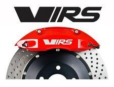 VRS bremssattel Aufkleber 6 x Skoda logo autoaufkleber tuning motorsport Weiß