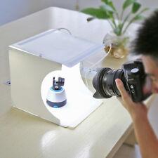 Portable Photography LED Lamp Box Mini Photo Studio Lighting Backdrop Home Tent