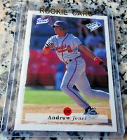 ANDRUW JONES 1995 Best Top 100 GLOSSY Rookie Card RC 434 HRs Braves Yankees $$$