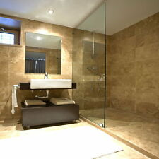 PREMIUM CLASSIC HONED & FILLED TRAVERTINE TILES 610x610x12mm £34.99 PER SQM