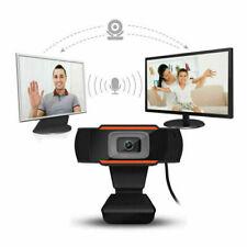 360° Rotatable Webcam USB  2.0 HD PC  Vidéo Caméra  Mise Point Automatique