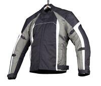 BIG SALE Motorbike Motorcycle Textile Jacket - Black / White Jacket Waterproof