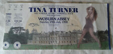 More details for tina turner concert ticket stub the foreign affair tourwoburn abbey 29 july 1990