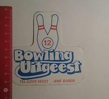 Aufkleber/Sticker: Bowling Uitgeest Amf Banen (26121690)