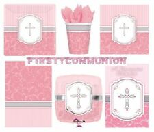 Articles de fête roses Amscan pour la maison Communion