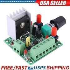 Stepper Motor Driver Controller Pwm Pulse Signal Generator Speed Regulator Usa
