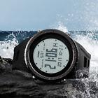 SKMEI LCD Orologio Da Polso Digitale Quarzo Cronometro Sport Uomo Impermeabile