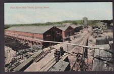 QUINCY, MASS., FORE RIVER SHIP YARDS - 1910's