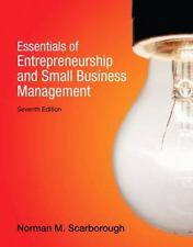 Essentials of Entrepreneurship and Small Business Management by Norman M. Scarbo