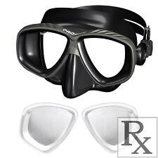 RX Prescription Optical Scuba Dive Snorkel Purge Mask Nearsighted -1.0 to -10.0