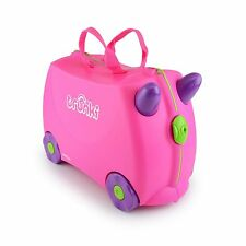 Trunki Ride-on Suitcase - Trixie (Pink) Children Luggage Ideal For Travel NEW
