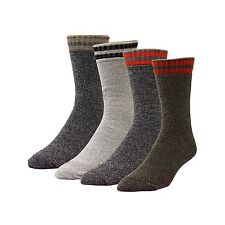 High Sierra Action-Dry Boot Socks - Assorted Colors - 4 Pairs
