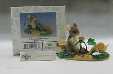 New A Growing Friendship Retired Club Exclusive 1998 Fitz & Floyd Charming Tails