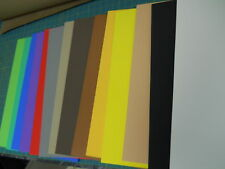 """60 pieces 1/4"""" (6mm) 12""""X18""""THICK CRAFT FOAM SHEETS -all colors in stock."""