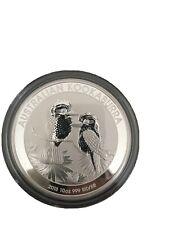10oz 2013 Australian Perth Mint Kookaburra Silver Coin In Capsule