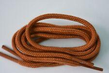70cm x 3.5mm Round Shoelaces Light Tan. Free UK Postage