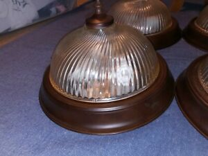 11 Inch Ceiling Dome Light set of 4 two sockets per
