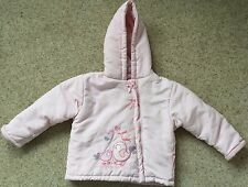 BABY SNUGGLES GIRLS HOODED PADDED COAT  AGE 18-23 MONTHS  EX COND