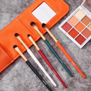 Pro Eyeshadow Brush Set Shade Crease Smudge Line Detail Eye Makeup Colorful Kit