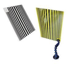 2 Pcs Line Board Paintless Dent Repair Tool Reflector w/1 Adjustable Holder  US